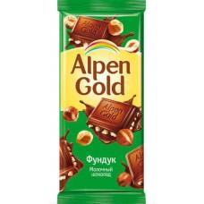 Шоколад  Alpen Gold, Фундук.
