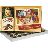 Набор конфет  Алёнка из молочного шоколада.