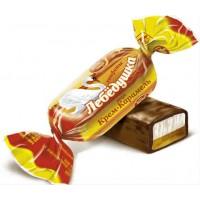 Конфеты Лебедушка вкус Крем Карамель