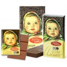 Шоколад молочный Алёнка