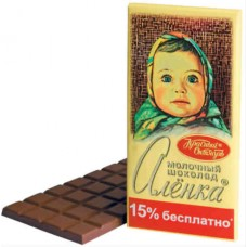 Шоколад Алёнка 200 грамм.