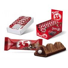 Конфета батончик «35» со вкусом шоколада