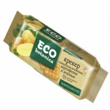 Крекер с картофелем и зеленью. Eco - botanica.