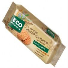 Печенье  с кунжутом овсянно-гречневое.  Eco - botanica.