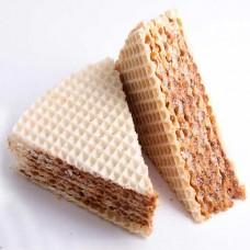 Мини тортики вафельные со сгущенкой