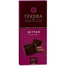 Шоколад классический горький «O`Zera»  Bitter  77, 7%.
