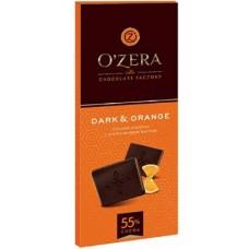 Шоколад «O`Zera» Dark&Oran  с апельсиновым маслом.