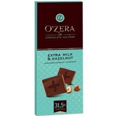Шоколад «O`Zera» Extra milk & Hazelnut